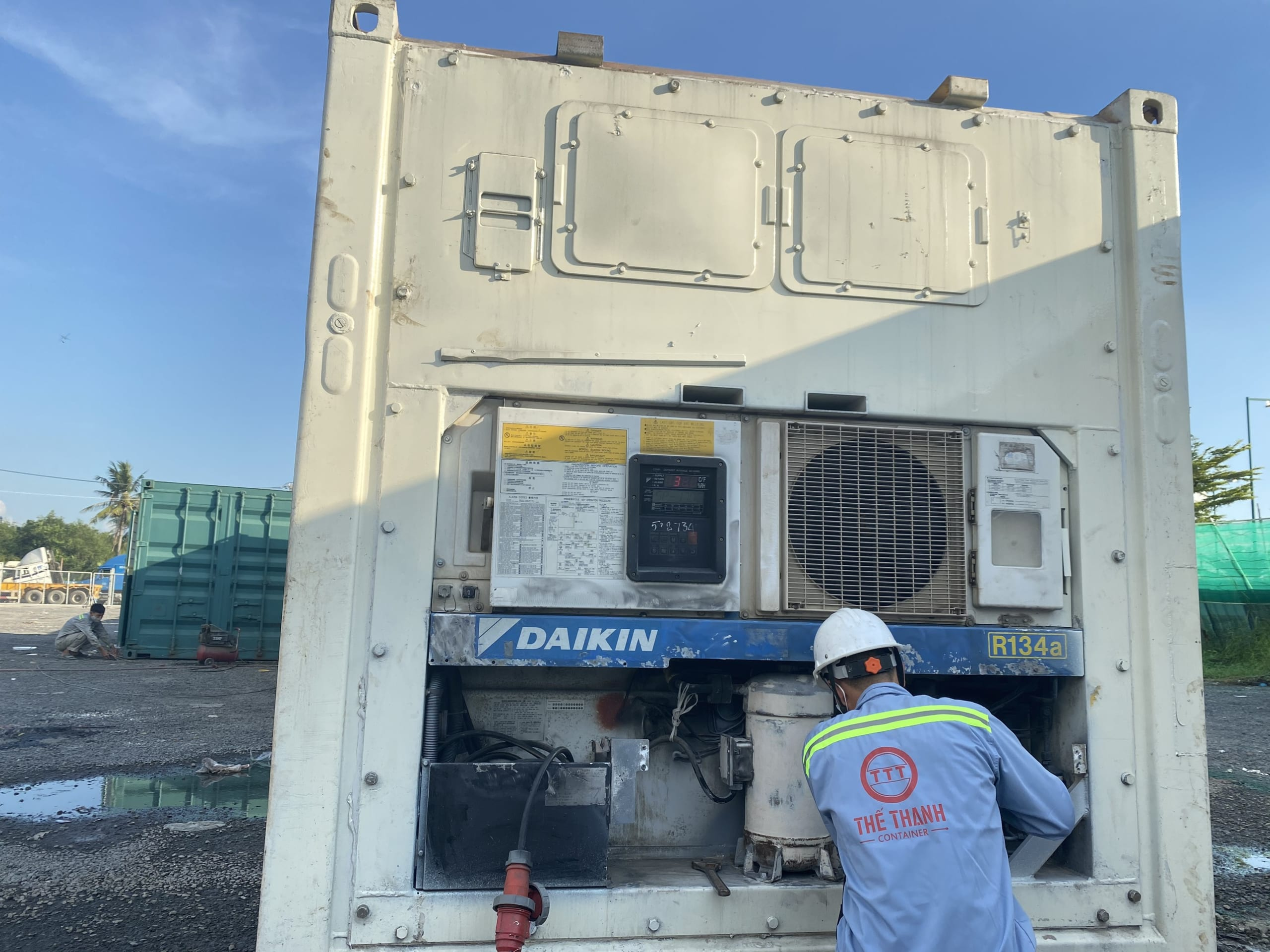 Sửa chữa container lạnh uy tín
